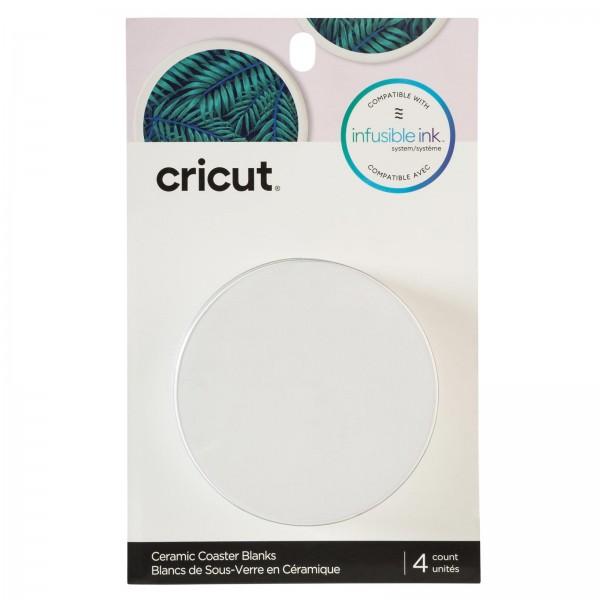 Cricut Blank Coaster Round 4stk
